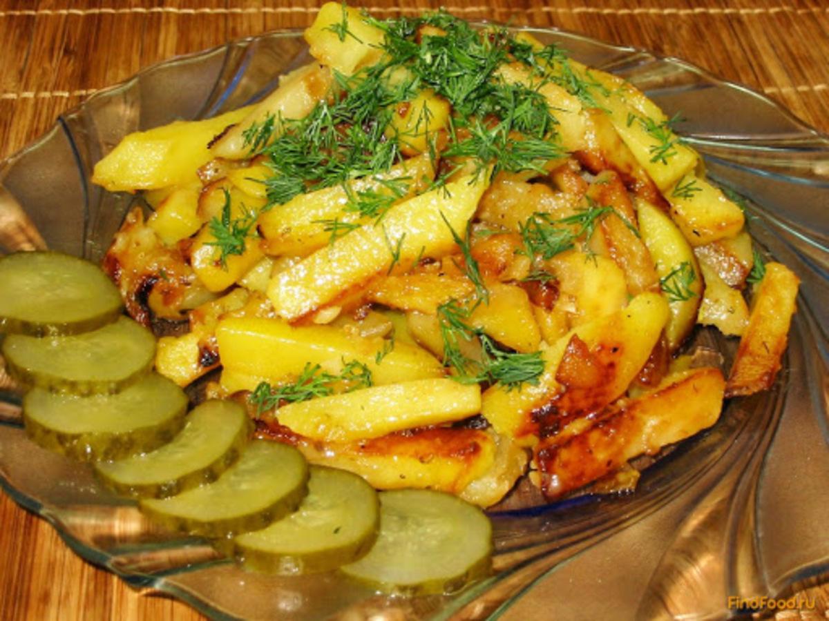 Веганский рецепт Жареный картофель