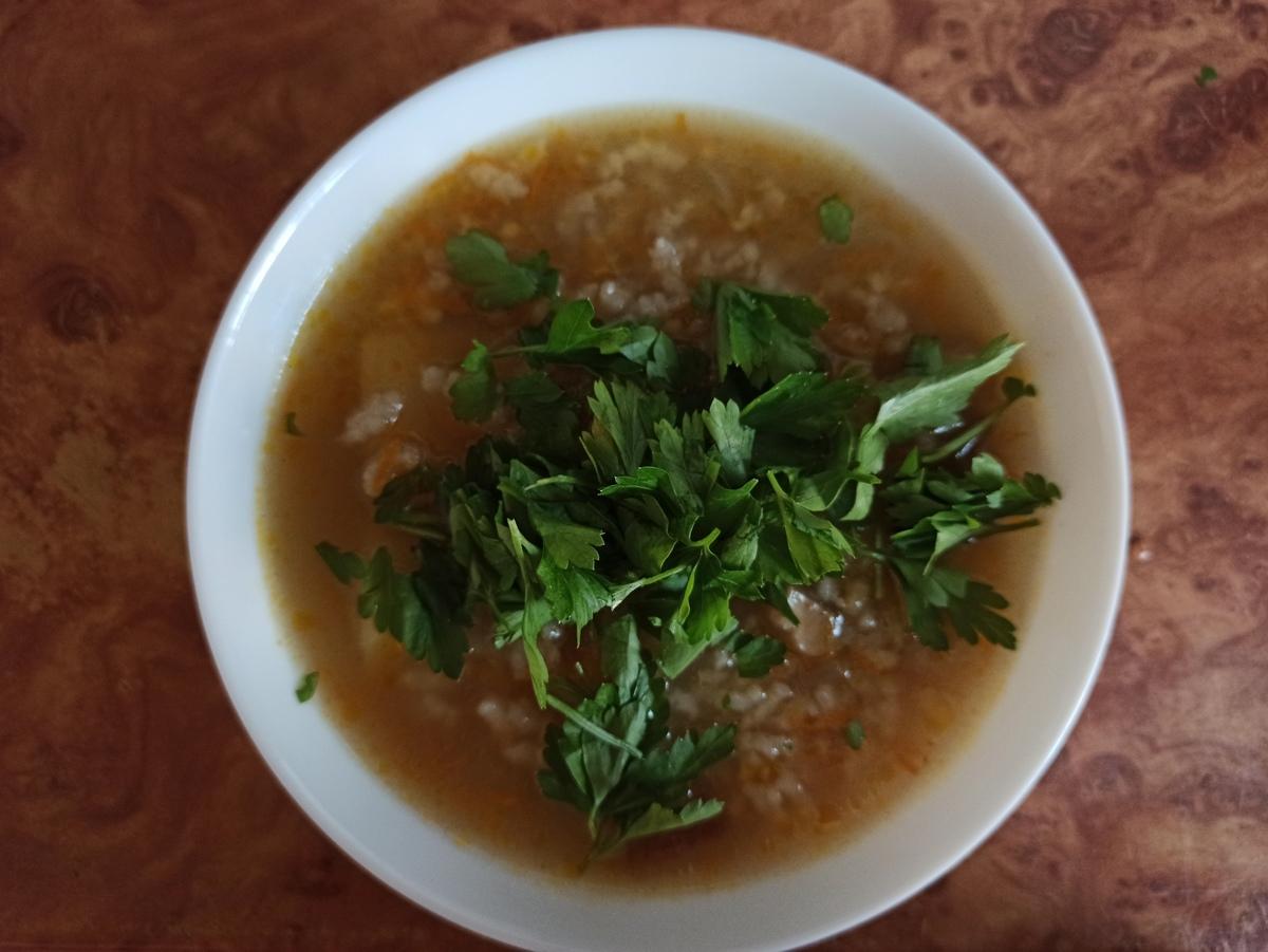Веганский рецепт грибной суп