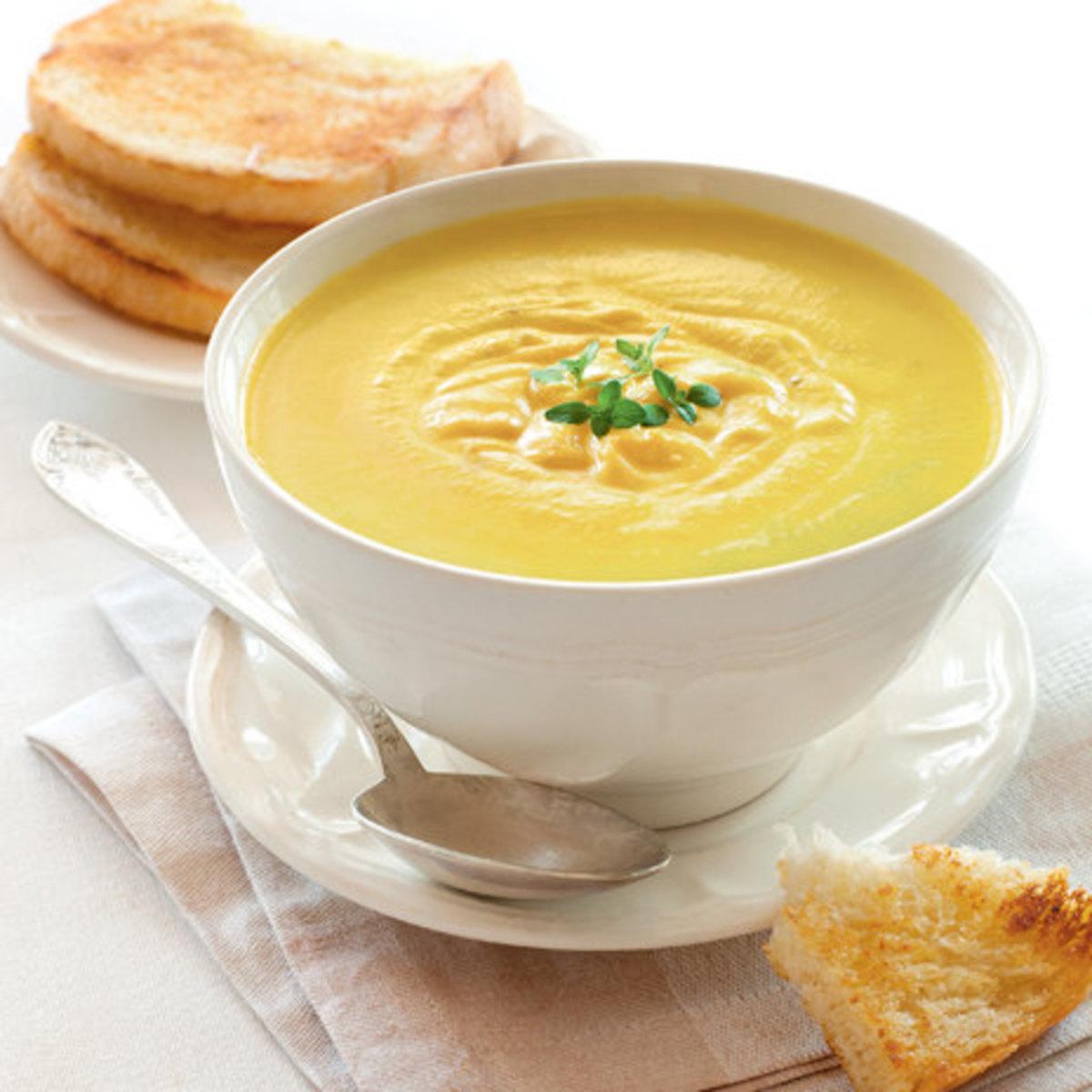 Веганский рецепт Овощной суп с фасолью