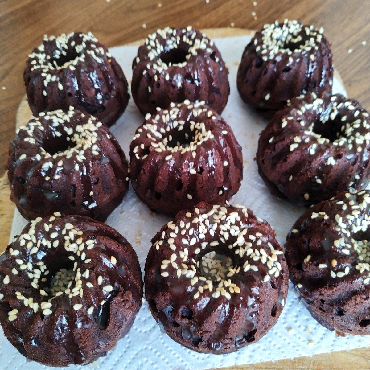 Веганский рецепт Кекс гречнево-шоколадный