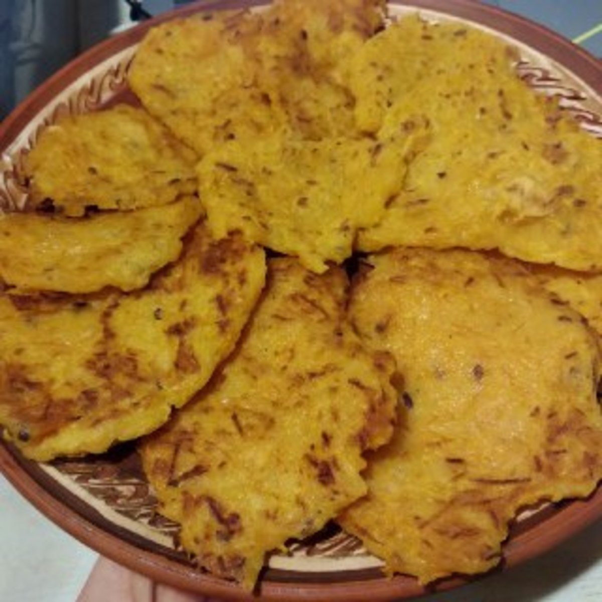 Веганский рецепт Тыквенные оладушки