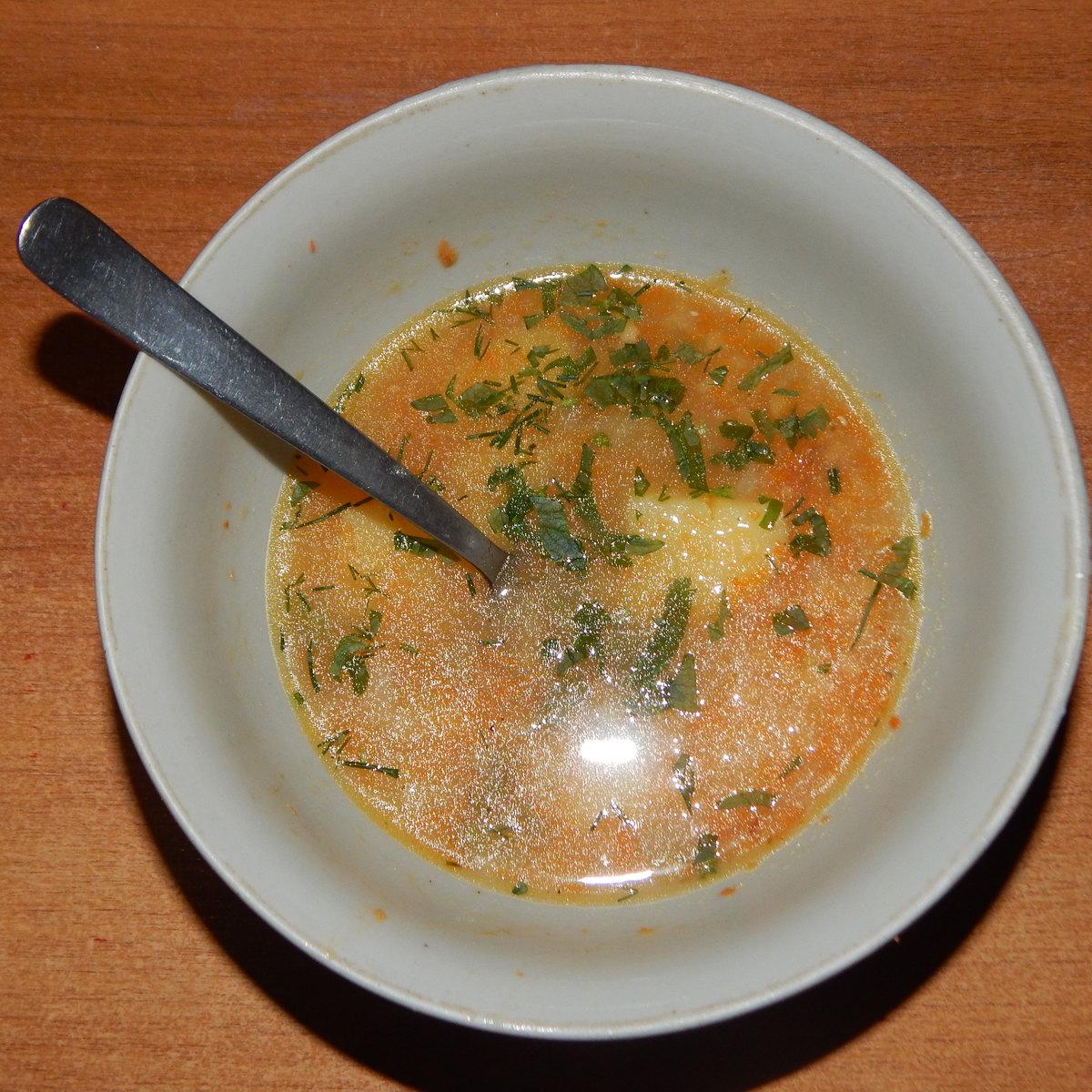 Веганский рецепт Суп чечевичный
