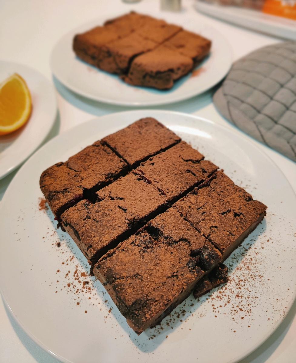 Веганский рецепт Шоколадный пирог с сюрпризом