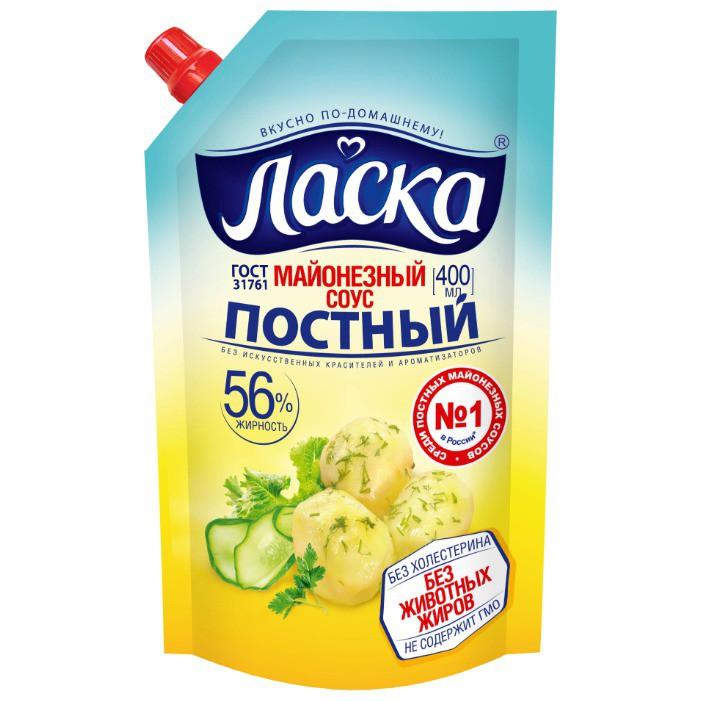 """Майонез """"Ласка"""" постный"""